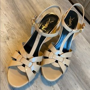 YSL sandals used Size 10.5US - 42EU